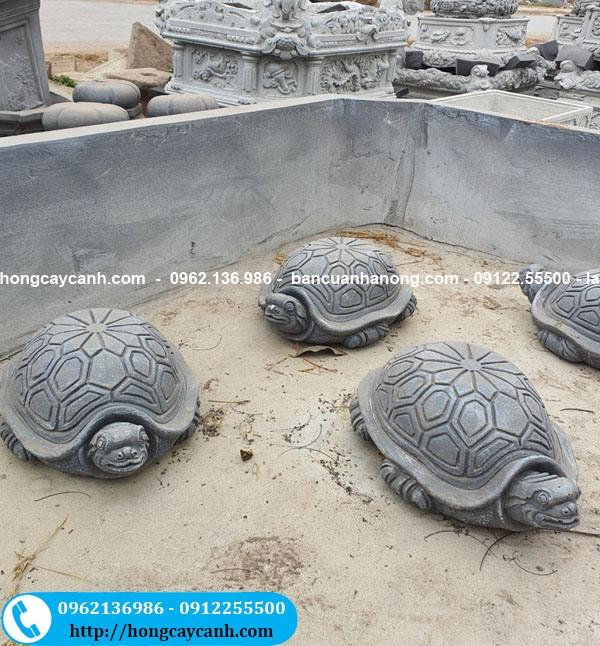 Đôn chậu cây hình con rùa