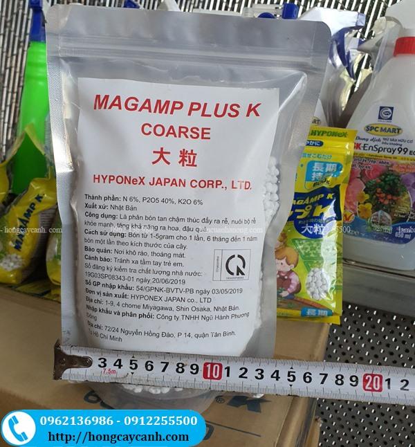 Phân Bón Tan Chậm Magamp Plus K