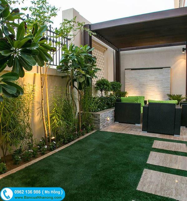 Thiết kế và cung cấp cây sân vườn biệt thự