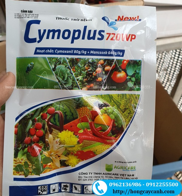 Thuốc Trừ Bệnh Cymoplus 720wp